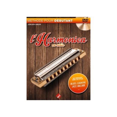 CHARLIER L'HARMONICA EN VIDEO +DVD