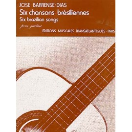 BARRENSE-DIAS 6 CHANSONS BRESILIENNES ETR1575