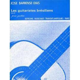 BARRENSE-DIAS LES GUITARISTES BRESILIENS 2 ETR001719