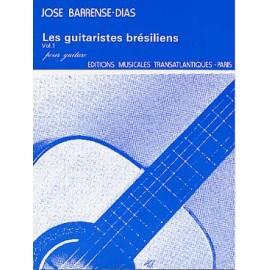BARRENSE-DIAS LES GUITARISTES BRESILIENS 1 ETR1664