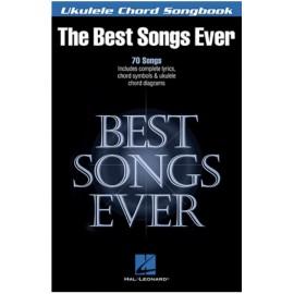 BEST SONGS EVER FOR UKULELE 70 SONGS HL00117050