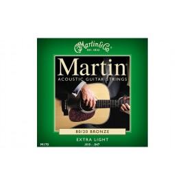 MARTIN BRONZE X-LIGHT 10/47 JEU M170F
