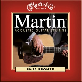 MARTIN BRONZE LIGHT 12/54 JEU M140