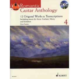 ROMANTIC GUITAR ANTHOLOGY 4 + CD  ED13113