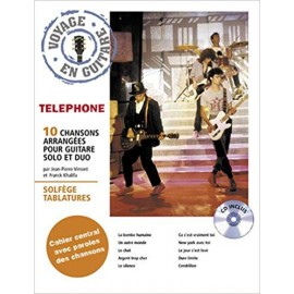 TELEPHONE VOYAGE EN GUITARE (PACK PARTITION + CD)