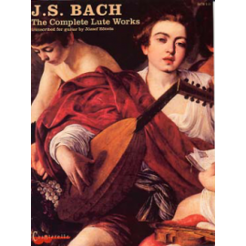 BACH COMPLETE LUTE WORKS ECH110