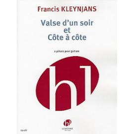 KLEYNJANS VALSE D'UN SOIR ET COTE A COTE  HL29487