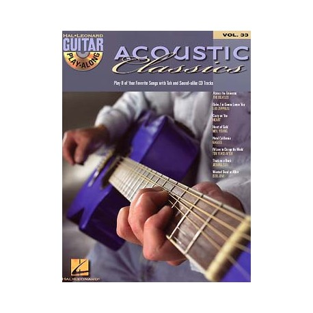 GUITAR PLAY ALONG ACOUSTIC CLASSICS HL00699656
