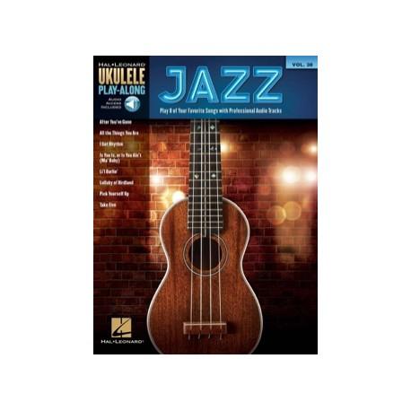 UKULELE PLAY-ALONG JAZZ HL00141192