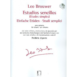 BROUWER ETUDES SIMPLES VERSION ITALIENNE DF16269