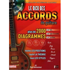DICO DES ACCORDS 2000 DIAG PAUL GUILLEMINOT (PACK CD + PARTITION)
