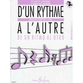 LAMARQUE D'UN RYTHME A L'AUTRE 3EME CYCLE VOLUME 4