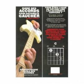 LES ACCORDS DE LA GUITARE POUR GAUCHERS MF2233