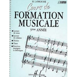LABROUSSE COURS FORMATION MUSICALE 5