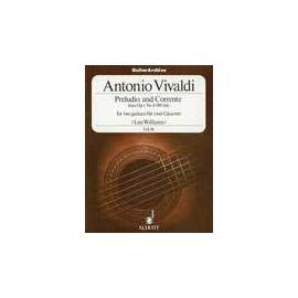 VIVALDI PRELUDIO AND CORRENTE GA96
