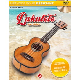 WALLON UKULELE EN VIDEO + DVD