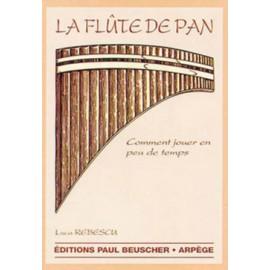 LA FLUTE DE PAN METHODE LUCA REBESCU PB017