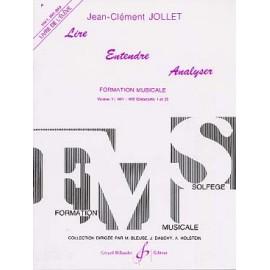 JOLLET LIRE ENTENDRE ANALYSER 1 ELEVE