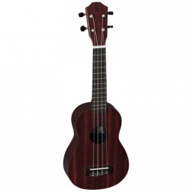 UKULELE BATON ROUGE FINITION ROUGE MAT V1ROYAL