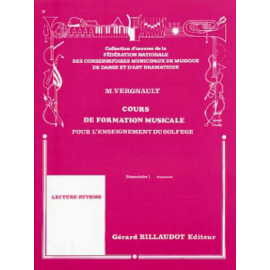 VERGNAULT COURS FORMATION MUSICALE E1