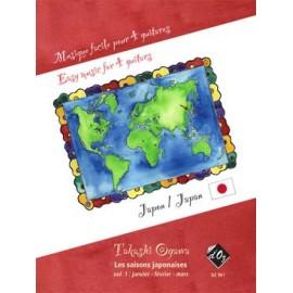 MUSIQUE FACILE POUR 4 GUITARES : JAPAN DZ981