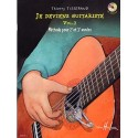 TISSERAND JE DEVIENS GUITARISTE VOL 2 (pack partition + cd)
