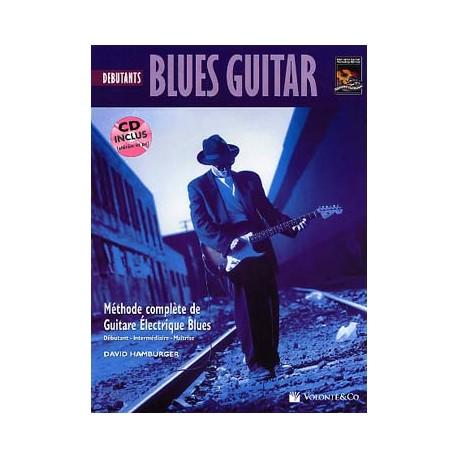 BLUES GUITAR DEBUTANTS HAMBURGER MB156 (PACK PARTITION+CD)