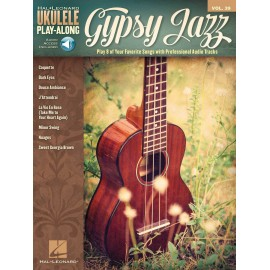 UKULELE PLAY-ALONG GYPSY JAZZ VOL39