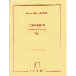 VILLA LOBOS CONCERTO REDUC ME6740