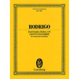 RODRIGO FANTAISIE POUR UN GENTILHOMME POCHE ETP1823