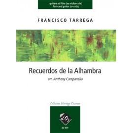TARREGA RECUERDOS DE ALHAMBRA DZ959