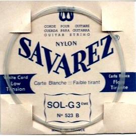 SAVAREZ CARTE BLANCHE CORDE 3 SOL 523B