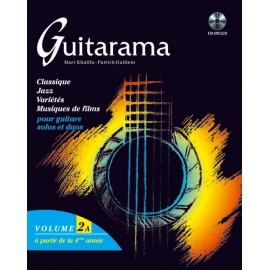 GUITARAMA 2A (PACK PARTITION+CD)