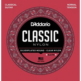 D'ADDARIO CLASSIC NYLON NORMAL TENSION JEU EJ27N