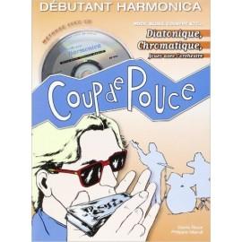 COUP DE POUCE HARMONICA DIATO CHROM (PACK PARTITION+CD)