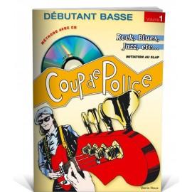 ROUX COUP DE POUCE BASSE DEBUTANT VOLUME 1 MF919 (PACK PARTITION+CD)