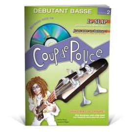 ROUX COUP DE POUCE BASSE DEBUTANT VOLUME 2 MF920 (PACK PARTITION+CD)