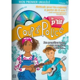 COUP DE POUCE UKULELE DES PETITS (PACK PARTITION+CD)