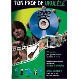 ROUX TON PROF UKULELE (PACK PARTITION+DVD)