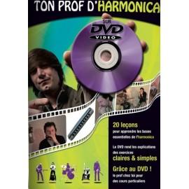 ROUX TON PROF D'HARMONICA (PACK PARTITION+DVD)