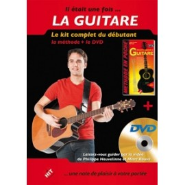 ROUVE / HEUVELINNE PACK DVD GUITARE (PACK PARTITION+ DVD)