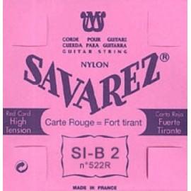 SAVAREZ CARTE ROUGE CORDE 2 SI 522R