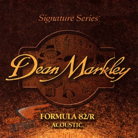 DEAN MARKLEY FORMULA 82R EXTRA MEDIUM LIGHT 12/54 JEU ML2104A