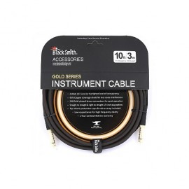 CABLE BLACK SMITH GOLD SERIE JACK/JACK 3M ICG-001SS