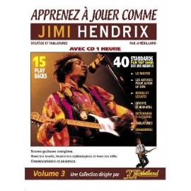 APPRENEZ A JOUER COMME JIMI HENDRIX (PACK PARTITION+CD)
