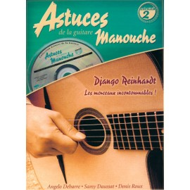 ROUX ASTUCES MANOUCHE VOLUME 2 MF1918 (PACK PARTITION+CD)