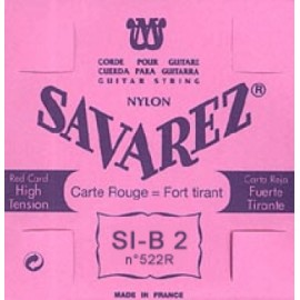SAVAREZ CARTE ROUGE CORDE 2 SI 522R