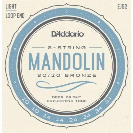 D'ADDARIO MANDOLINE BRONZE 10/34 EJ62