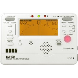 ACCORDEUR METRONOME KORG TM60 BLANC