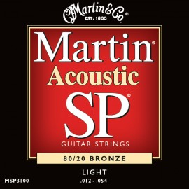 MARTIN SP BRONZE LIGHT 12/54 JEU MSP3100